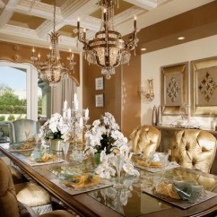 Affordable Kitchen Table Sets How To Decorate A Warm And Stunning Family Dining Room ...