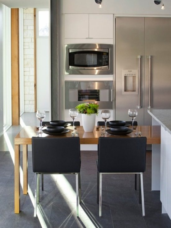 Get Stylish And Functional Dining Room With 2018 Space