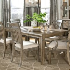Rooms To Go Kitchen Sets Natural Pine Cabinets Rustic Dining Room Furniture Lends Your Space Aesthetic ...