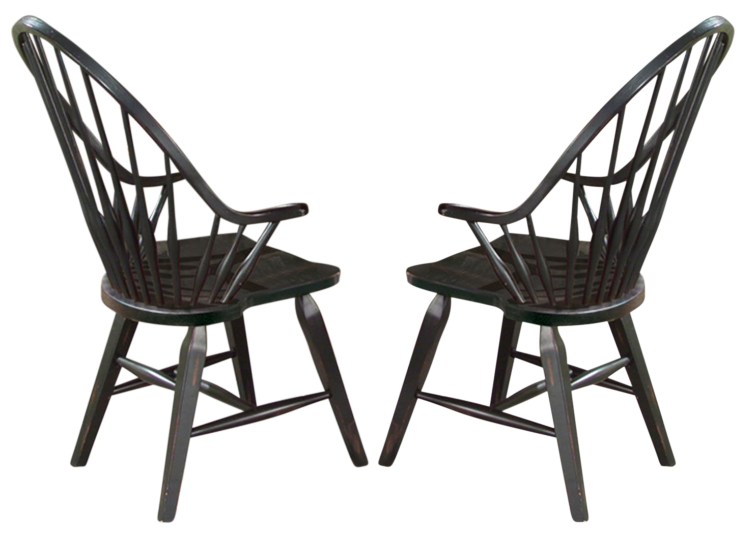 Black Windsor Chair Intercon Furniture Rustic Traditions Windsor Arm Chair In