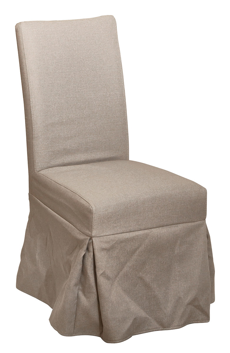 Slip Covers For Chairs New Classic Muses Slip Cover Chairs In Dove Gray Set Of 2 D836 26 Promo