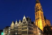 European River Cruise Stops Antwerp