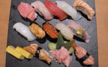 Eating in Okinawa Sushi JiroCho