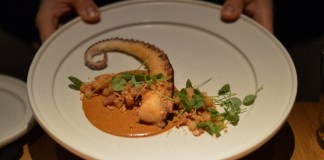 Octopus at Cosme NYC