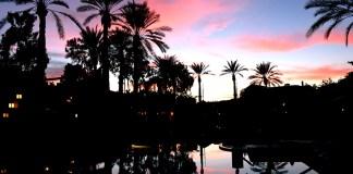 Arizona Biltmore Hotel Pool Sunset