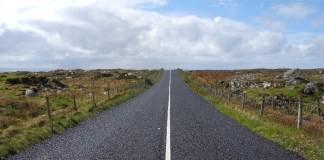 Road in Connemara Should I rent a car in Ireland?