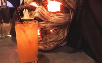Cocktail at Pub Dread Halloween Pop Up Bar DC 2