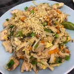 Recipe for an authetic pad thai dish
