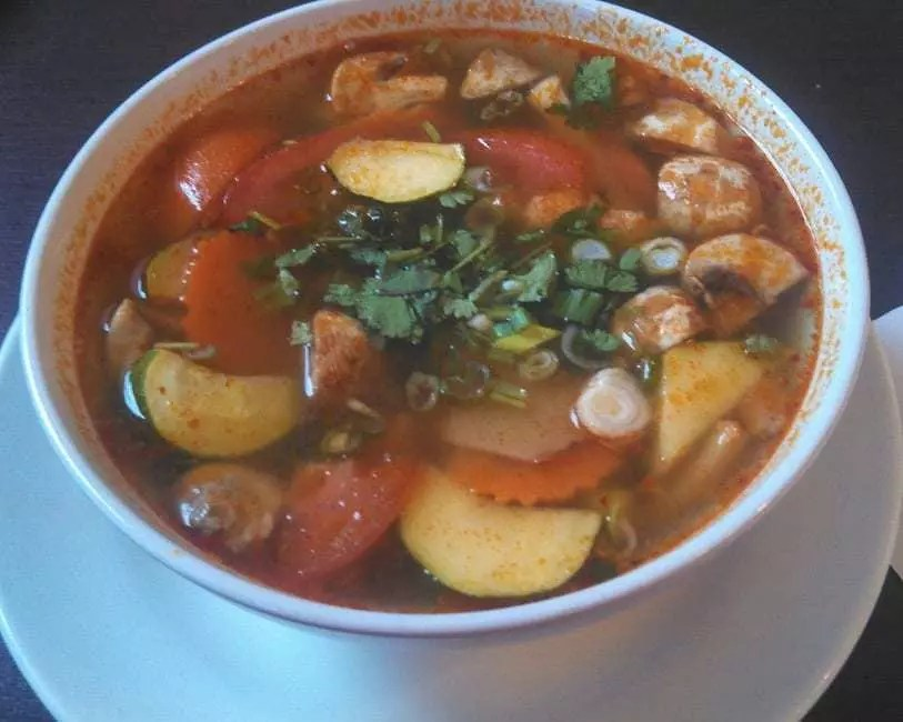 Tom Yum Thai Tom Yum soup