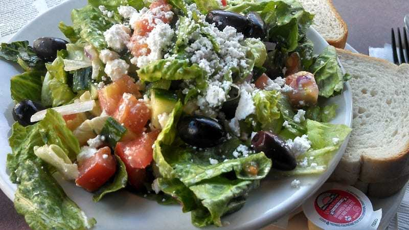 The Fyxx Greek Salad