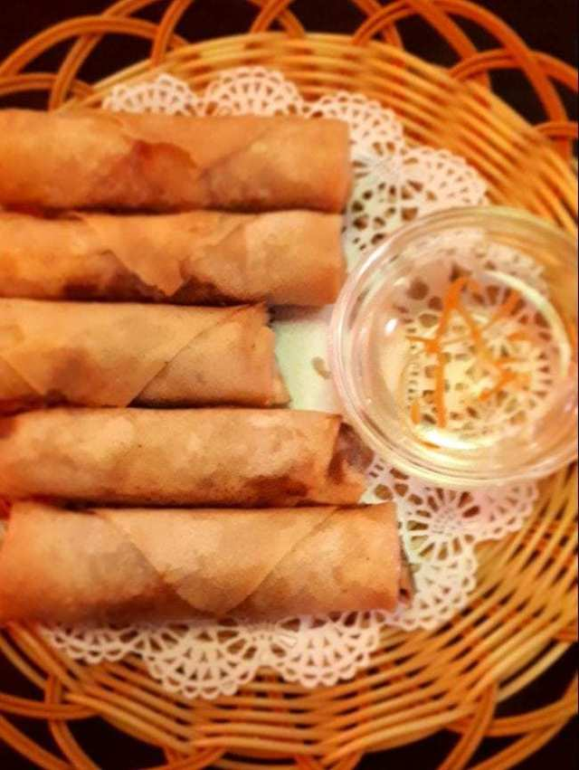 Spring Rolls with sacue