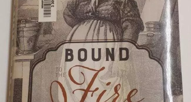 March book Bound to the Fire