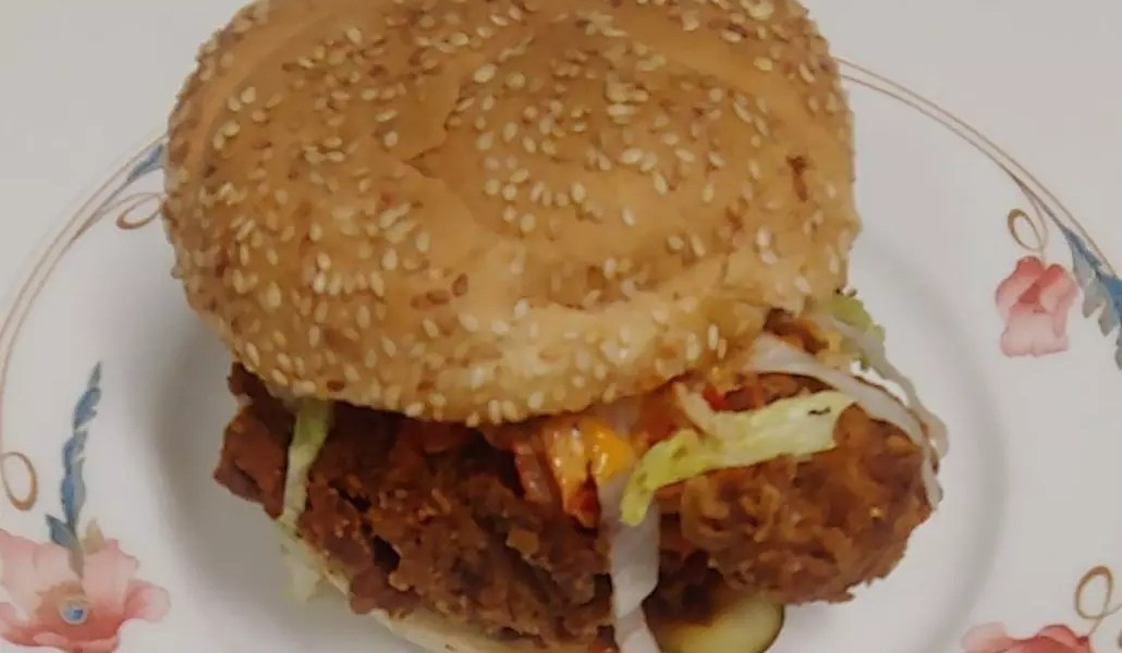 Fried Chicken Fest burger from Smith