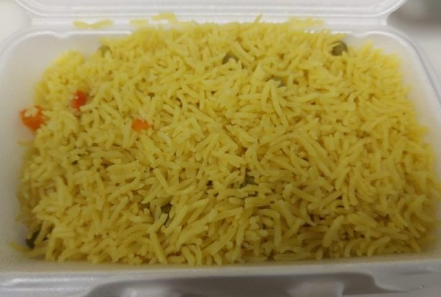 A pile of rice