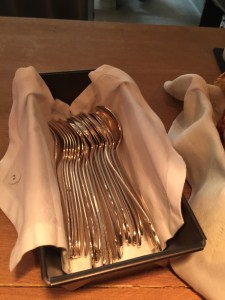 flatware box at your setting