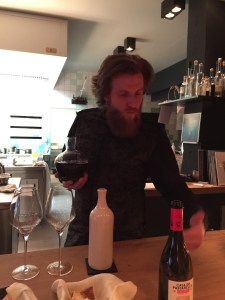Sommelier and owner, Billy Wagner