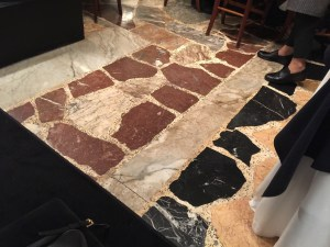 cool stone floor