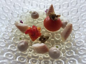 Tomato and eel