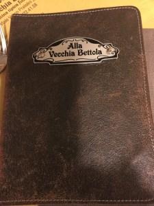 leather menu cover