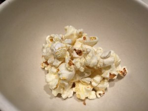 little popcorn to go with