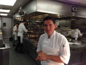 Our chef and the main kitchen