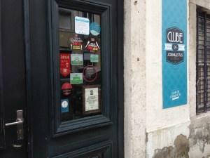 Exterior of Clube de Jornalistas