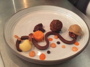 Before I Quit I go nuts: quince, carrots, walnut