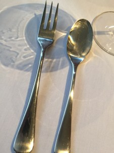 Nice weight stainless flatware
