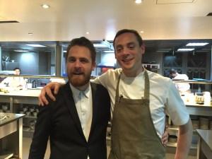 General manager Benjamin Hoffer and Dan Cox, Executive chef