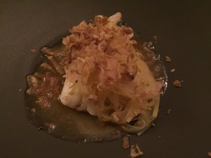 Cod, potoato and browned butter