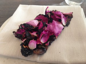 Flatbread and roses