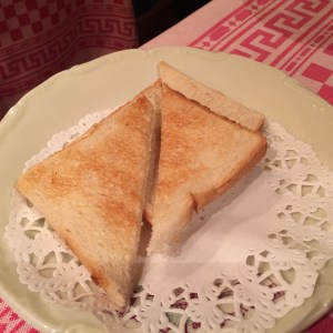 bread for foie gras