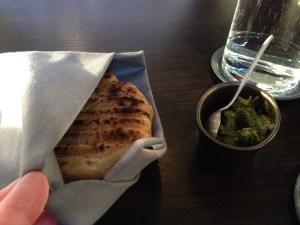 Fermented potato flat bread
