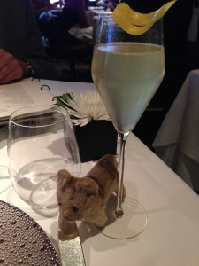 Frankie's particularly fond of French 75s