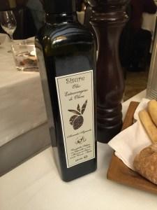 olive oil for seasoning
