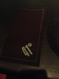 imprinted napkins