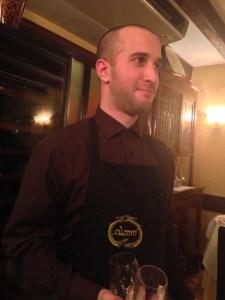 nice waiter
