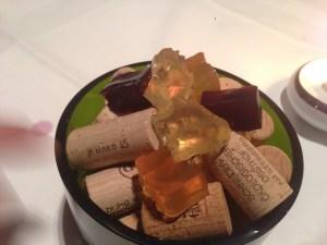 Pinot, gewurztraminer and, muscat jellies