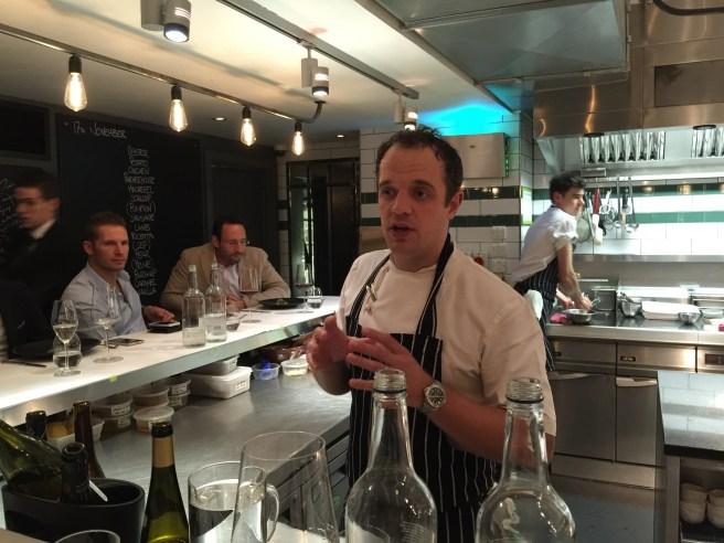 Chef and owner James Knappett