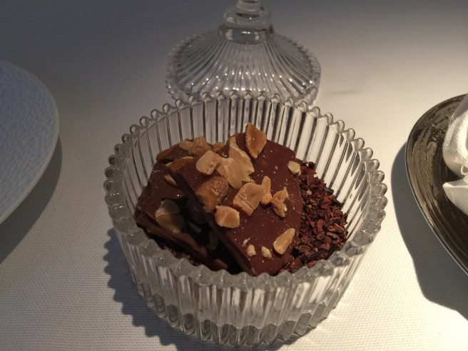 Peanut butter and chocolate brittle - spectacular!