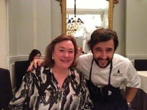 Me with Chef Diego Guerrero