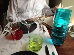 Cool glassware