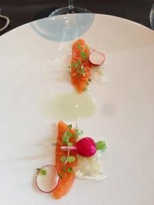 Fish with radish