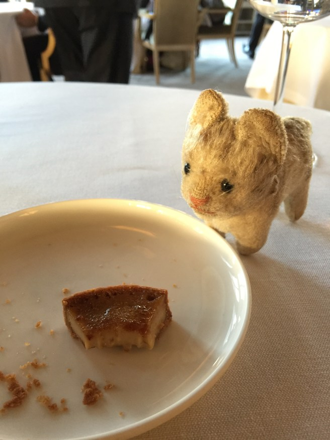 Frankie approved of the tart