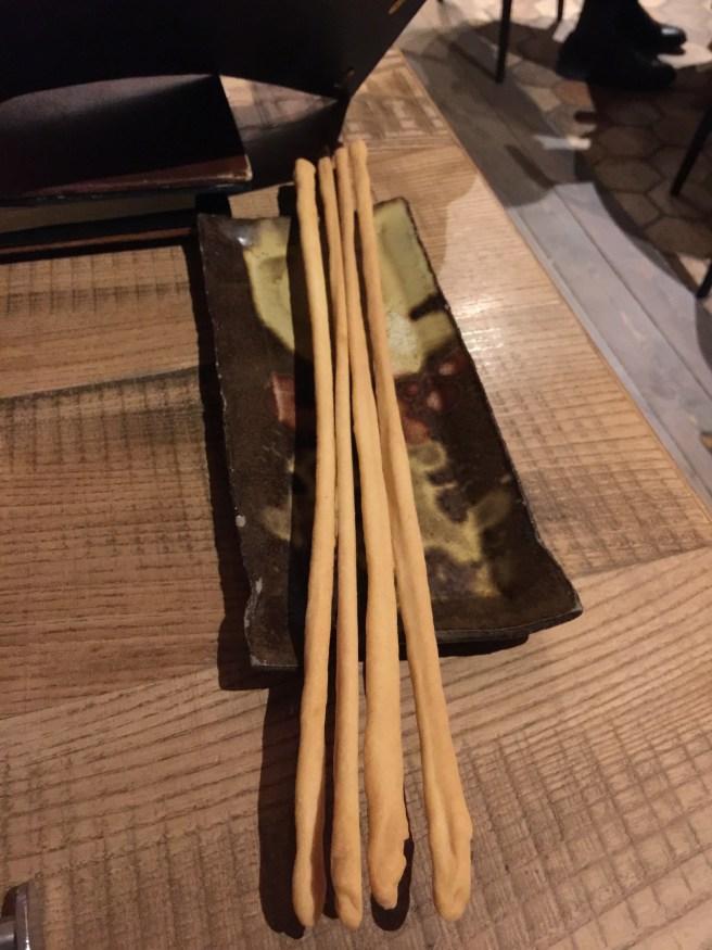 house made breadsticks