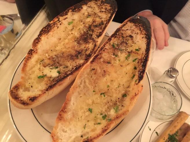 hot garlic bread