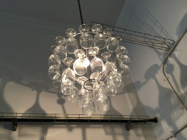 interesting chandelier