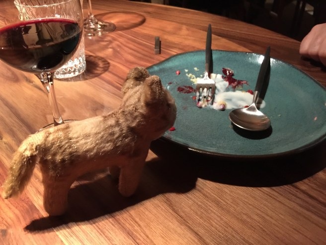 Frankie thought we should have shared dessert