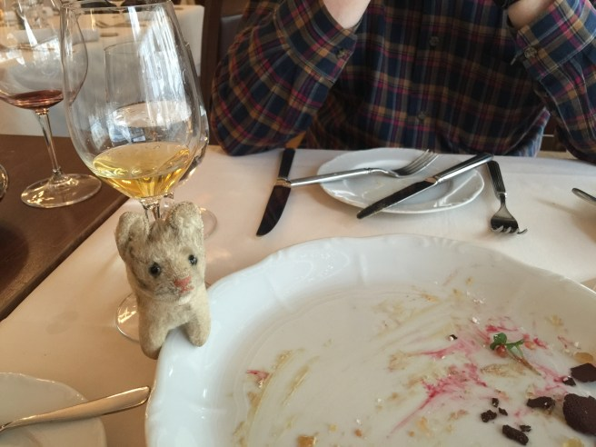 Frankie loved the foie gras