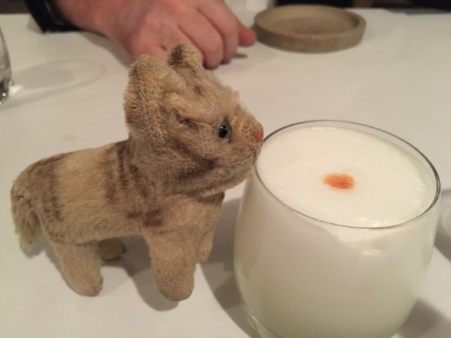 Frankie wanted a Pisco sour drink